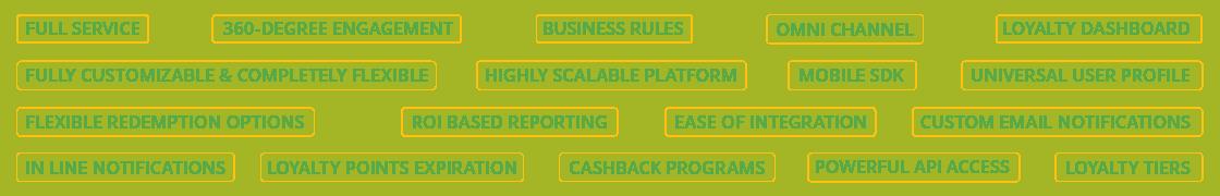 Zinrelo platform features - Loyalty Program