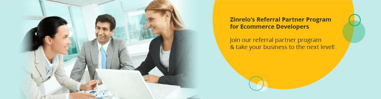 Referral partner program for Ecommerce developers